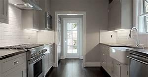 Gray Kitchen Walls Design Ideas