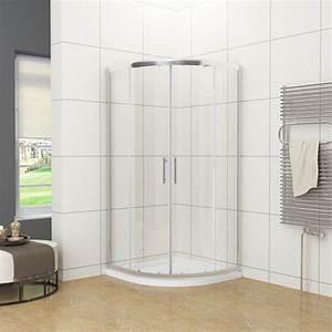 Viertelkreis Duschkabine 80x80 : duschkabine viertelkreis 80x80 90x90cm nano schiebet r ~ Watch28wear.com Haus und Dekorationen