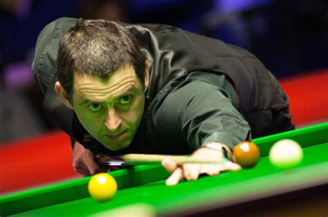 players championship   snooker score updates  ronnie osullivan  action daily star