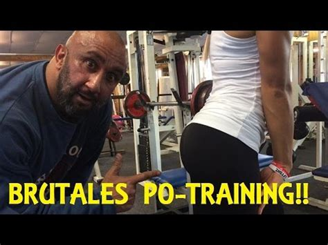 Brutales Po Training Für Brutalen Po Teil 2 Mit Pumping