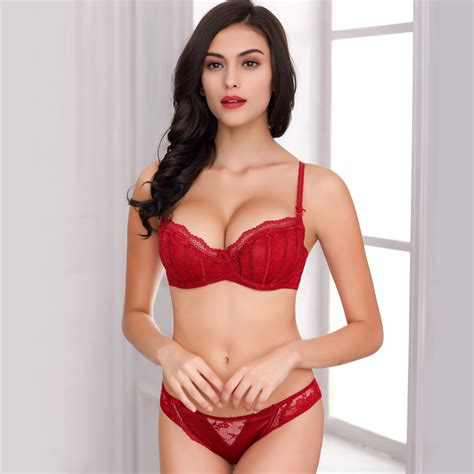 Sexy Red Bras - Breeze Clothing