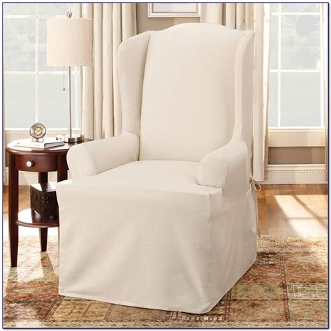 white wingback chair slipcover wingback chair covers wingback chair slipcovers sofa and