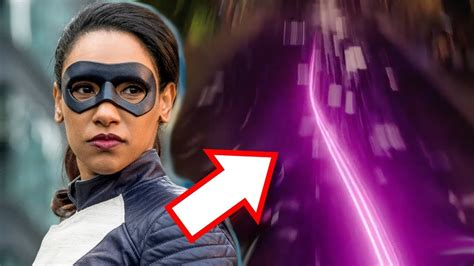 Why Does Iris Have Purple Lightning? Run, Iris, Run!