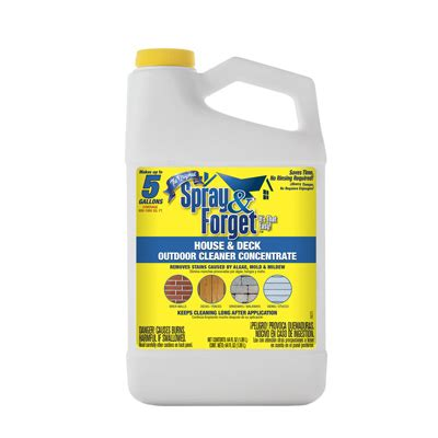 spray forget spray forget  oz concentrate  rinse