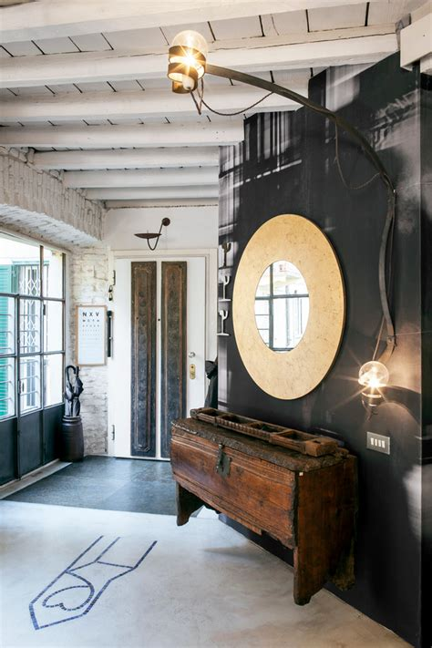 interesting industrial entry hall designs suitable  lofts