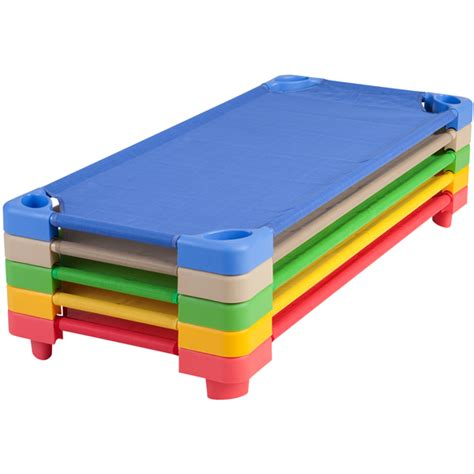 daycare cots at schoolsin 838 | 5pcColorCotStack