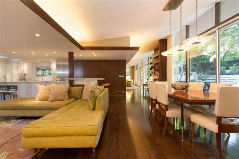interiors homes mid century modern style