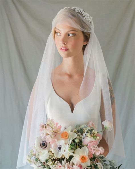Annie Ekstrom Bridal Cathedral Juliet Cap Veil
