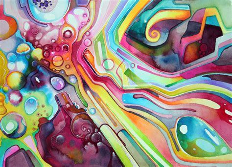 abstract watercolor abstract watercolor