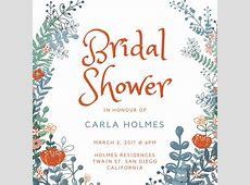 Customize 636+ Bridal Shower Invitation templates online