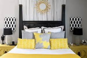 Yellow Black And White Bedroom Ideas by Room Decorating Before And After Makeovers