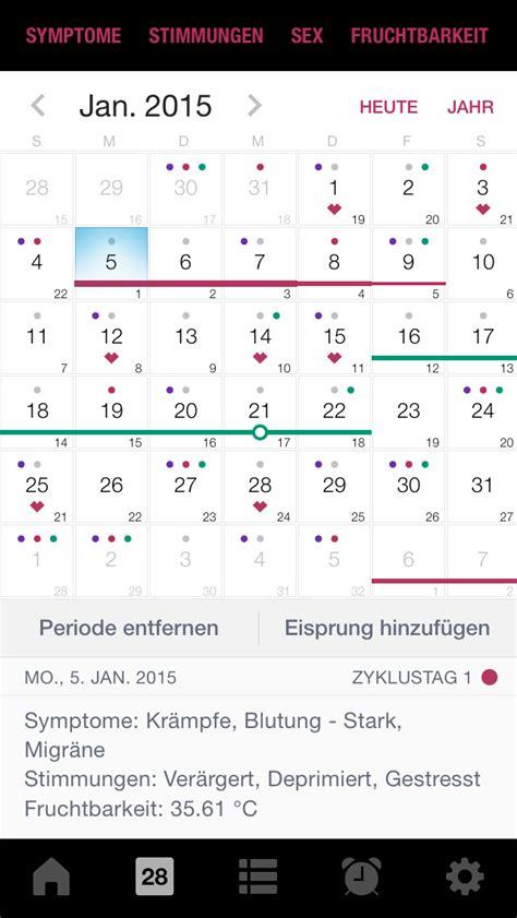 fruchtbare tage berechnen app eisprung kalender schwanger