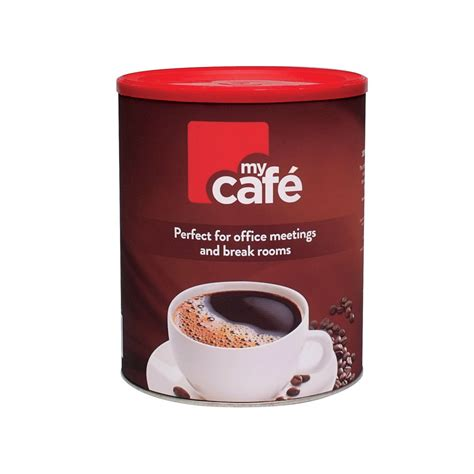 Instant coffee is usually made from dried coffee extract. MyCafe Instant Coffee Granules 750g C226