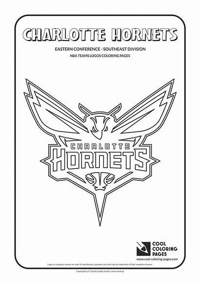 Coloring Pages Nba Basketball Logos Cool Teams