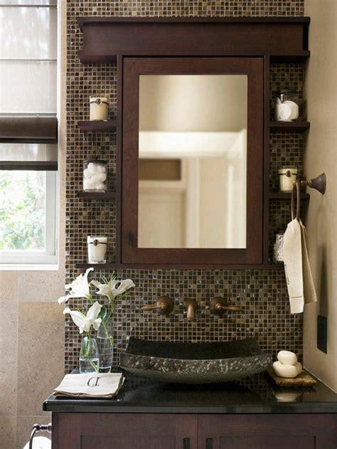 Mosaique Miroir Salle De Bain by Le Th 232 Me Du Jour Est La Salle De Bain R 233 Tro