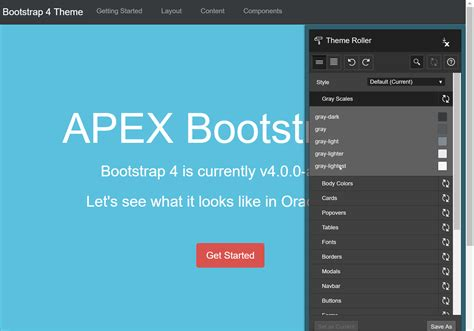 Bootstrap 4 Themes Introducing Apex Bootstrap 4 Theme