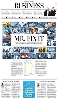 newspaper layout images editorial design