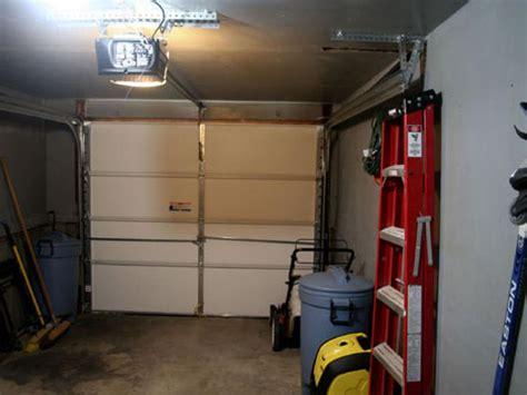 installing a garage door opener install electric garage door opener hgtv