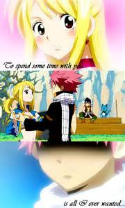 Fairy Tail Natsu and Lucy Kiss