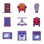 Warehouse Icons Household Furniture