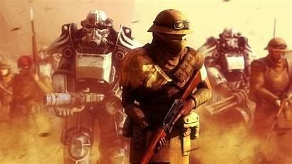 Fallout Vegas Armor Power California Republic 4k
