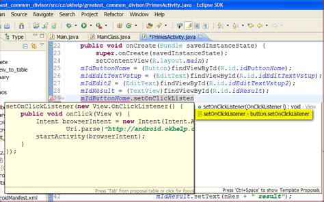eclipse add your code template how add android code templates to eclipse software and