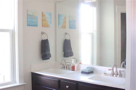 borrowed heaven: Master Bath: Builder Grade to Custom Made