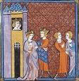 Bertrade de Montfort, miniature du XVè