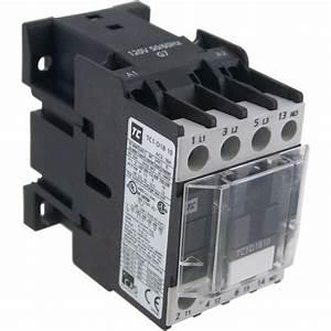 3 Pole Contactor 18 Amp 1 N  O 120 Vac Coil