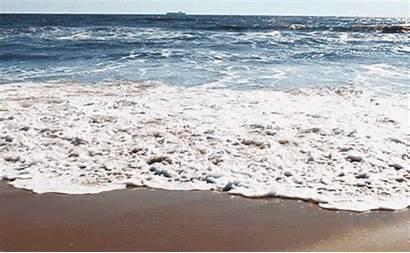 Waves Ocean Calming Away Wash Let Beach