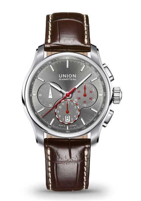 union glashuette sa belisar chronograph automatik nur