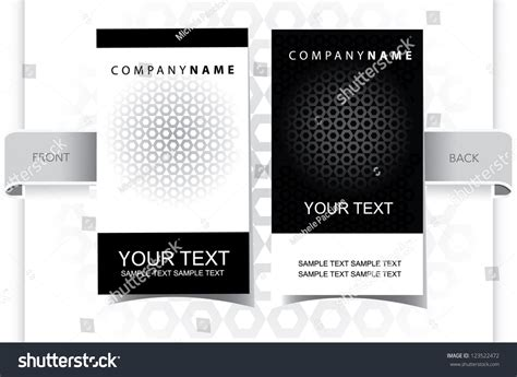 Black Globe Texture Vertical Business Card Stock Vector Visiting Card Printing Singapore Design Fast Food Business Woodlands Qr Code Minimum Size On App Reader Phone Indian Restaurant Template Canva Real Estate