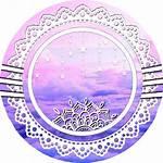Aesthetic Icon Icons Pastel Circle Aesthetics Purple