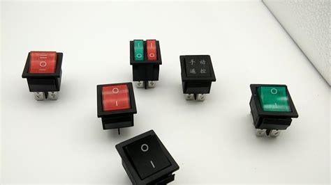 Hot Sale Taiheng Kcd Pin Illuminated Rocker Switch