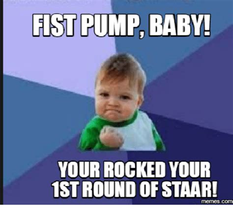 Fist Pump Baby Meme - internet fist pump www imgkid com the image kid has it