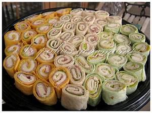 Recette Avec Tortillas Wraps : le palais gourmand sandwiches roul s tortillas apero pinterest sandwichs roul s recette ~ Melissatoandfro.com Idées de Décoration