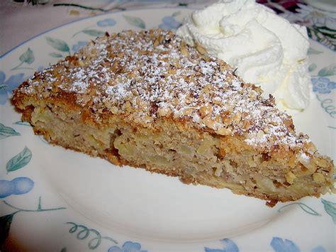 Chefkoch Rezepte Apfel Zimt Nuss Kuchen Rezept Mit Bild Elwira