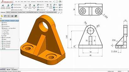 Solidworks Beginners Tutorial Exercise Mechanical Inventor Autocad