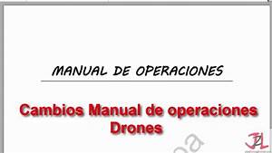 Ap U00e9ndice E  Nuevo Manual De Operaciones 2016  Drones