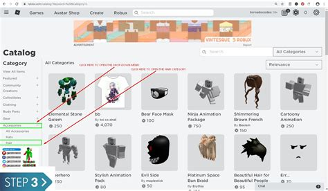 It can become quite tedious to find the correct item without knowing which is. Roblox Hair Codes - IDs for Black, White and Bacon 2020 - Tornado Codes