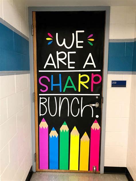 august door decoration set    sharp bunch school