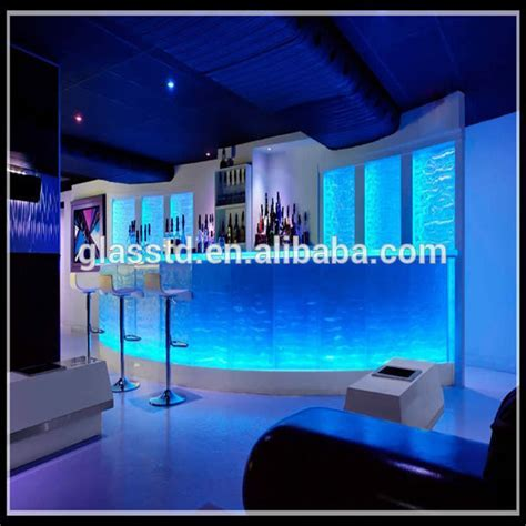 Luxury Led lit Glass Countertops,Sale Night Club Bar