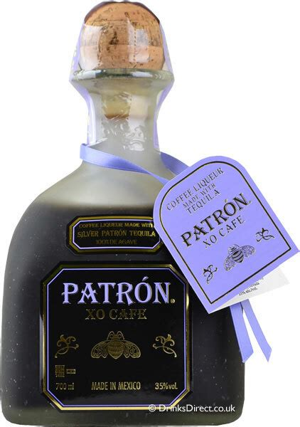 And, you really don't have to shoot it! Patron XO Cafe Tequila 750ml - Ourcellar.com.au