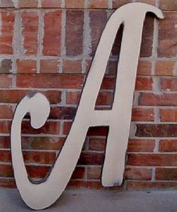 distressed 3 foot tall wooden letter a 36 by With 3 foot letters