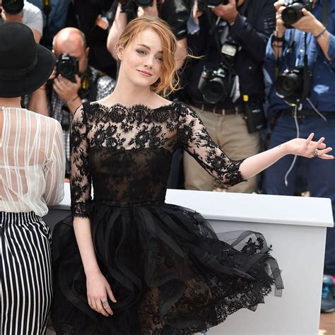 times emma stone slayed  red carpet  cannes mtv
