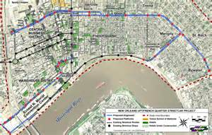 New Orleans Trolley Map