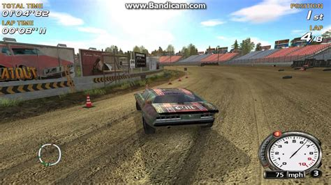 motocross racing game flatout pc video game nascar style racing on dirt track