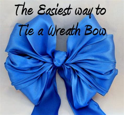 how to tie a bow with ribbon pinterest the world s catalog of ideas