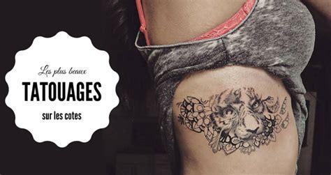 Tatouages Sur Les Cotes Pour Femmes  Nos Plus Beaux