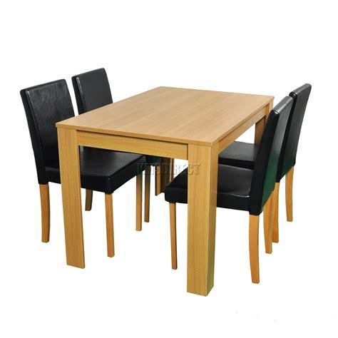 sur la table westwood westwood en bois table salle à manger et 4 ou 6 simili